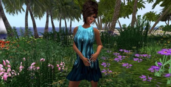 Syl's Spring Blue Butterfly Dress_001